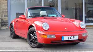1990 porsche 911 red used porsche 911 carrera 2 cabriolet for sale in leeds west