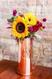 Vases For Floral Arrangements Modern Flower Arranging Tips Using Non Traditional Vases Maya