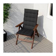 Ikea Recliner Chair äpplarö Reclining Chair Outdoor Foldable Brown Stained Ikea