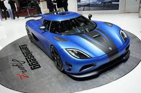 koenigsegg ragera los 5 autos más rápidos del mundo