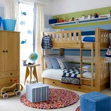bedroom enticing little boys bedroom design with red fabric
