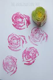 printing roses with celery stalks the imagination tree