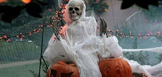 Life Size Outdoor Halloween Decorations by Halloween Decor Porches Pumpkins Gourds Eggplant Bombay Outdoors