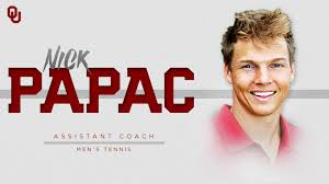 Oklahoma Travel Assistant images Papac named men 39 s tennis assistant coach the official site of jpg