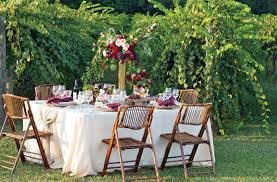 outdoor wine tasting party