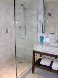 fascinating small bathroom open shower doorless ideas in cool