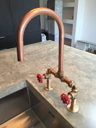 copper faucets kitchen faucet built taps by arnolds kitchens brass and copper