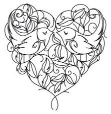 288 best fantasy coloring hearts images on pinterest drawings