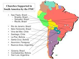 Asuncion Paraguay Map Who We Support Florida Missions Council