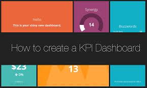 Dashboard Kpi Excel Template To Create A Kpi Dashboard