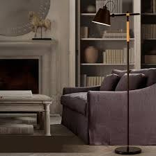 Wrought Iron Floor Lamps Complete The Interiors Traditional Look With Black Wrought Iron