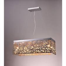Rectangle Pendant Light Best Of Rectangular Ceiling Light Modern Dining Room Crystal