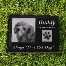 dog memorial granite pet memorial 8 x 12 x 1 thick make mine personalized