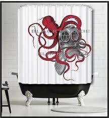 Dwell Shower Curtain - best 25 octopus shower curtains ideas on pinterest neutral