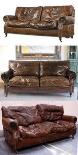 Worn Leather Sofa Old Sofà Vintage Home Style Pinterest Vintage Leather Sofa