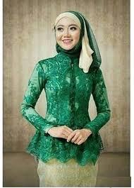 contoh gambar kebaya contoh baju kebaya wisuda simpel fashion trend 2018