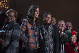Obama First Family by Malia Obama Photos Photos First Family Attend National Christmas
