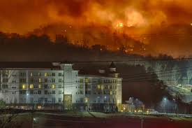 Wildfire Map Valley Fire by List Sites Damaged By Gatlinburg East Tennessee Wildfires