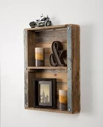 Barnwood Wall Shelves Dining Room Stylish Barnwood Industrial Wall Shelf Twinkle Little