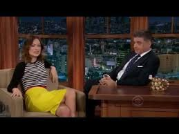 olivia wilde u0027s tattoos on craig ferguson youtube
