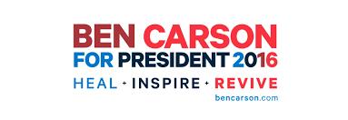 ben carson presidential bid redesigning the ben carson caign logo