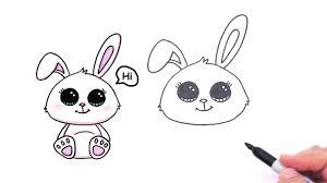 coloring cute bunny drawings coloring cute bunny