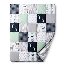 Jojo Crib Bedding Set Sweet Jojo Designs Crib Bedding Set Navy Mint Woodsy 11pc