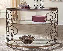 Metal Sofa Table Console Tables Ashley Furniture Homestore