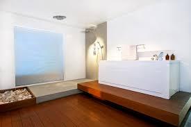 a warm and toasty bathroom
