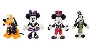 spooky skeleton disney store halloween plush toys