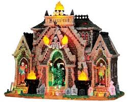 spooky town spooky town all hallows mausoleum with adaptor 35491