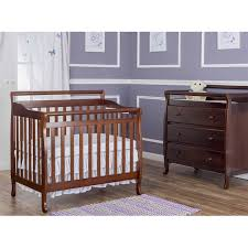 Davenport Convertible Crib by Dream On Me Niko 5 In 1 Convertible Crib With Changer Cherry