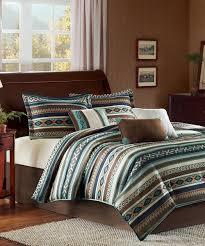 Walmart Black And White Bedding Bedding Appealing Blue Brown Aztec Comforter Set Zulily Bedding