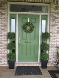 green front door feng shui house and surroundings green front