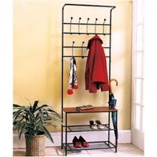Bench Purses Hallway Coat Rack And Bench Foter