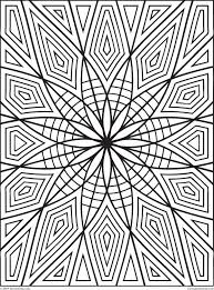 geometric coloring pages coloring home