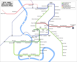 Link Light Rail Map Bangkok Metro Mrt U2014 Map Lines Route Hours Tickets