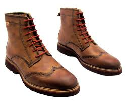 s boots lace pikolinos s brown lace up leather wingtip brogue combat