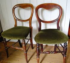 Victorian Dining Chairs Pair Of Mahogany Victorian Dining Chairs English 19th Century