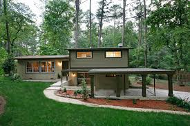 Mid Century Modern Ranch Exterior Shutters On A Contemporary Ranch House Google Search