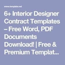 Interior Design Services Contract by Interior Design Contract Template Beautiful Home Interiors