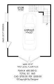 Floor Plan Garage by Garage Plan 480 385 G House Plans By Garrell Associates Inc