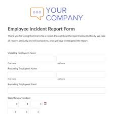 medication incident report form template web form templates customize use now formstack