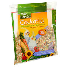 wild harvest cockatiel advanced nutrition diet blend 4 lb