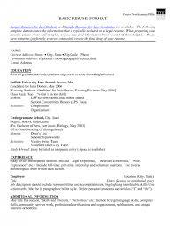 sample of resume format resume cv cover letter resume simple