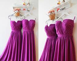 sangria bridesmaid dresses chiffon bridesmaid dress etsy