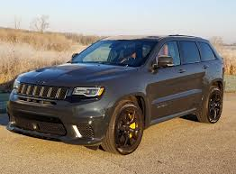trackhawk jeep 2018 jeep grand cherokee trackhawk savage on wheels
