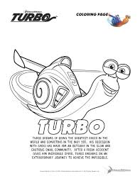 turbo coloring pages and activity worksheets fiestas infantiles