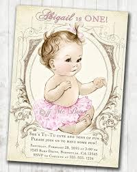 56 best baby u0027s birthday invitations images on pinterest baby