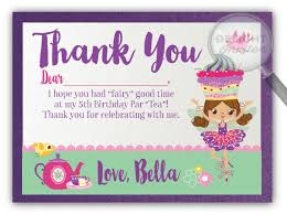 dress up fairy tea party birthday invitations dress up tea party